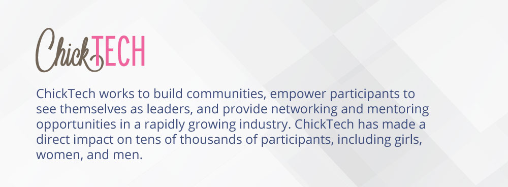 ChickTech - Community Partner for International Women's Hackathon 2019