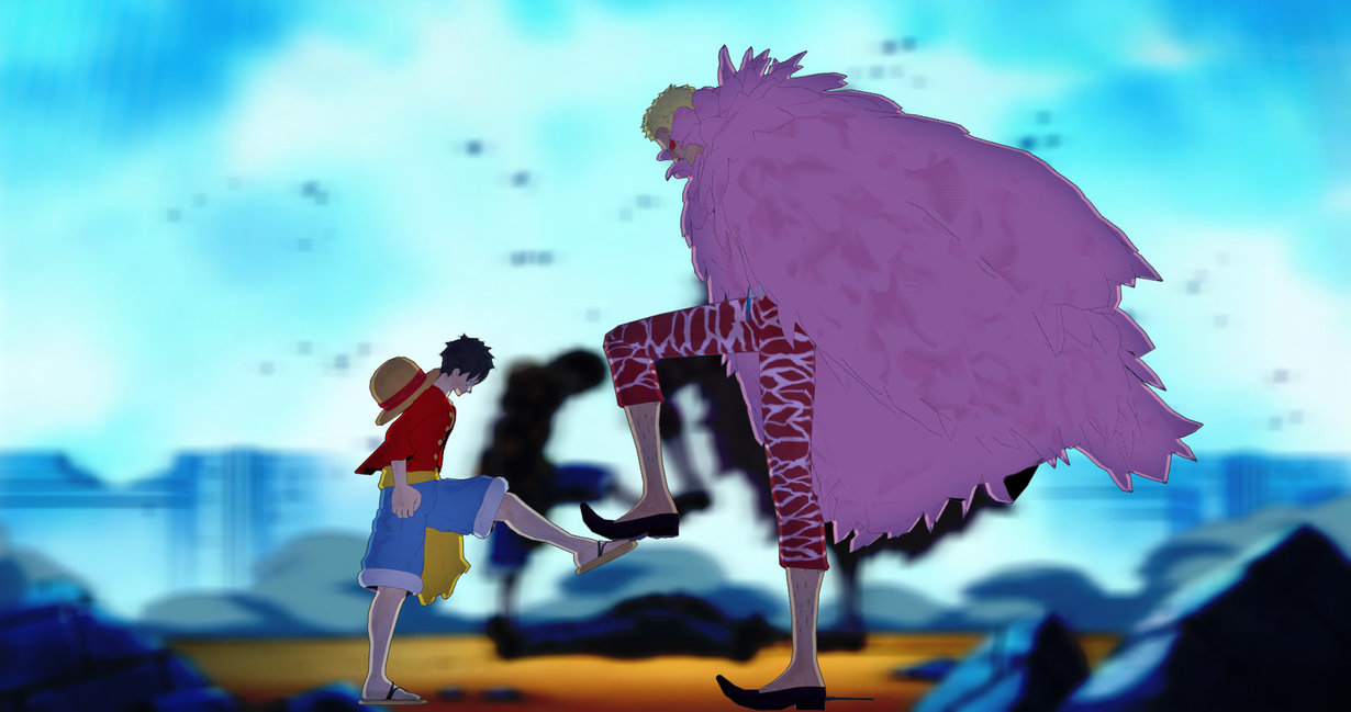 Luffy asks