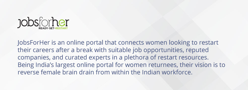 JobsForHer - Ecosystem Partner for International Women's Hackathon 2019