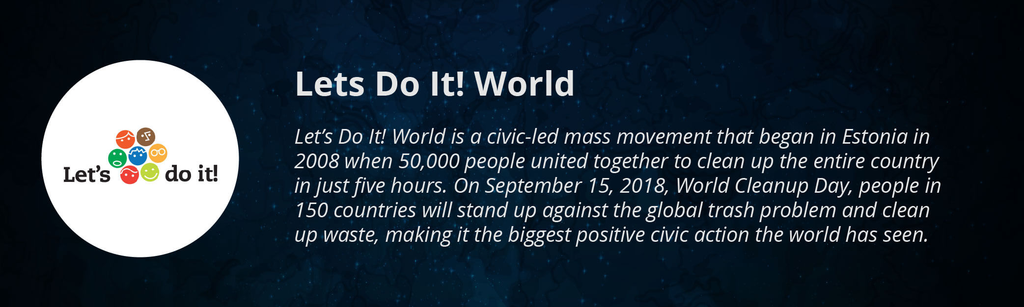 Lets Do It! World