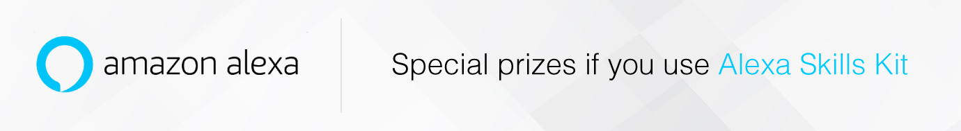 Voice Apps special prizes by Amazon Alexa